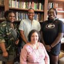 AFAM students with Director, Dr. Carolyn Jones Medine